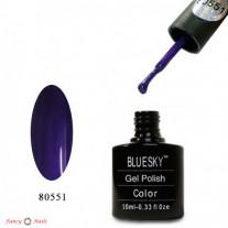 Гель лак Bluesky 80551 (ярко-фиолетовый)
