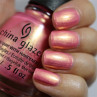 china glaze moment in the sunset фото на ногтях