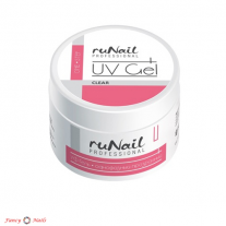 ruNail One Step UV Gel - Clear - 15 г