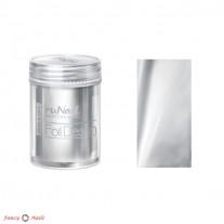 ruNail Фольга для ногтей - серебряная