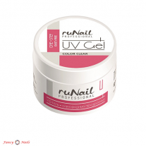 ruNail One Step Dust Free UV Gel - Clear - 56 г