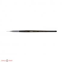 ruNail Кисть для дизайна Nail Art Nylon, 5 мм №00/3