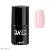 ruNail Elastic Camouflage Rubber Base - цвет розовый