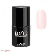 ruNail Elastic Camouflage Rubber Base - цвет бледно-розовый