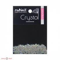 ruNail Стразы прозрачные голографические 1.8 мм