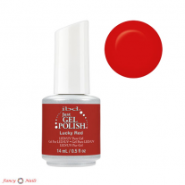 Ibd Just Gel Polish Lucky Red