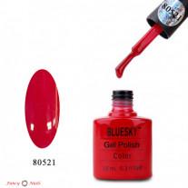 Гель лак Bluesky 80521 (красный)
