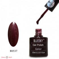 Гель лак Bluesky 80537 (бордовый)