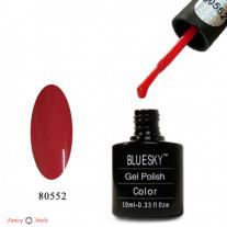 Гель лак Bluesky 80552 (красно-коралловый)