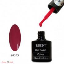 Гель лак Bluesky 80553 (ягодно-розовый)