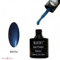 Гель лак Bluesky 80554 (синий)