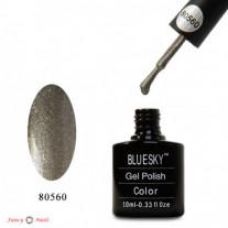 Гель лак Bluesky 80560 (зеленовато-серебряный)