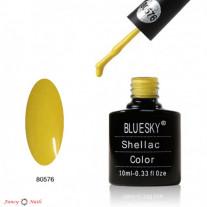Гель лак Bluesky 80576 (ярко-желтый)