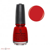 China Glaze Vermillion