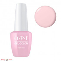 OPI GelColor It's A Girl!
