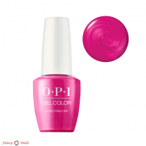 OPI GelColor La Paz-itively Hot