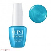 OPI GelColor Teal The Cows Come Home