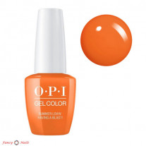 OPI GelColor Summer Lovin' Having a Blast!