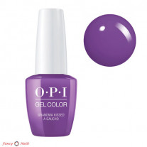 OPI GelColor Grandma Kissed A Gaucho