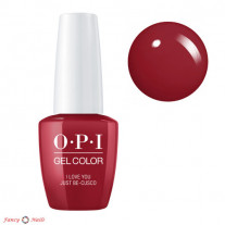 OPI GelColor I Love You Just Be-Cusco
