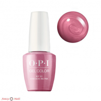 OPI GelColor Not So Bora-Bora-ing Pink