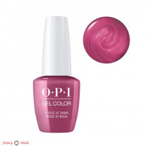 OPI GelColor A Rose At Dawn…Broke By Noon