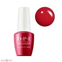 OPI GelColor Color So Hot It Berns