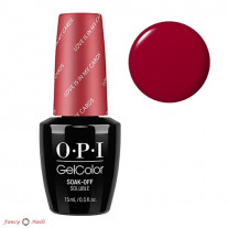 OPI GelColor G32 Love Is In My Cards