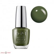 OPI Infinite Shine Olive For Green