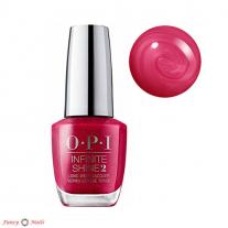 OPI Infinite Shine Peru-B-Ruby
