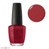 OPI Chick Flick Cherry