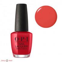 OPI Color So Hot It Berns