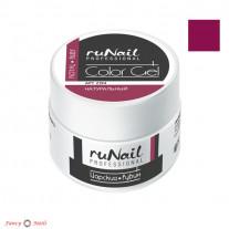 ruNail Цветной УФ Гель - цвет Царский рубин
