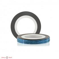 ruNail Лента для дизайна ногтей - голубая