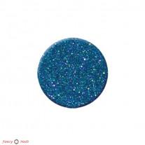 Блестки для ногтей - пыль - синие