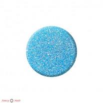 Блестки для ногтей - пыль - голубые