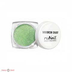 зеркальная пыль для втирки 3176 зеленая