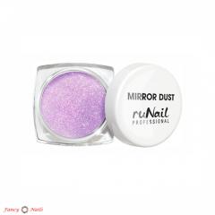 зеркальная пыль для втирки №3177 фиолетовая