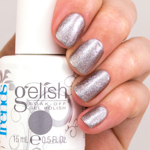 gelish tinsel my fancy 15 мл фото на ногтях