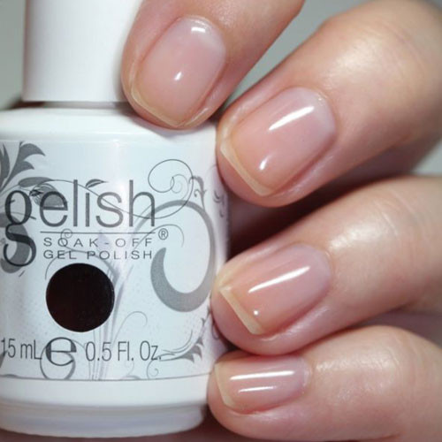 gelish simple sheer 15 мл фото на ногтях