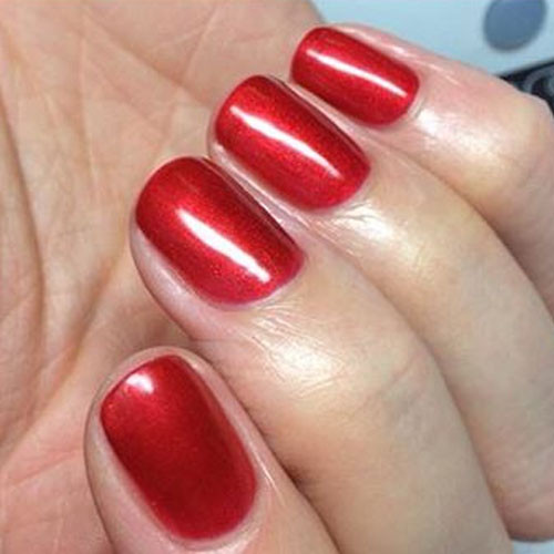 gelish just in case tomorrow never comes 15 мл фото на ногтях