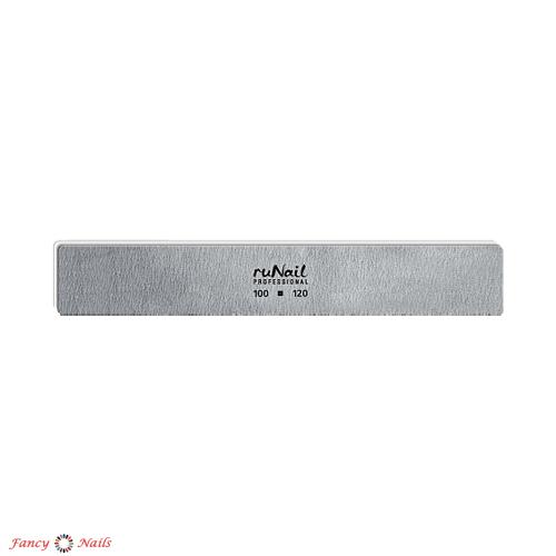 runail пилка прямая 100 120 грит