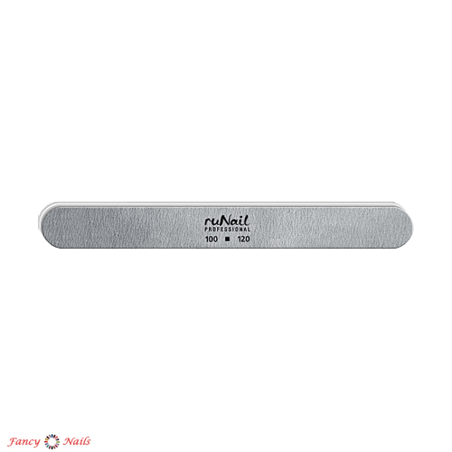 runail пилка закругленная 100 120 грит