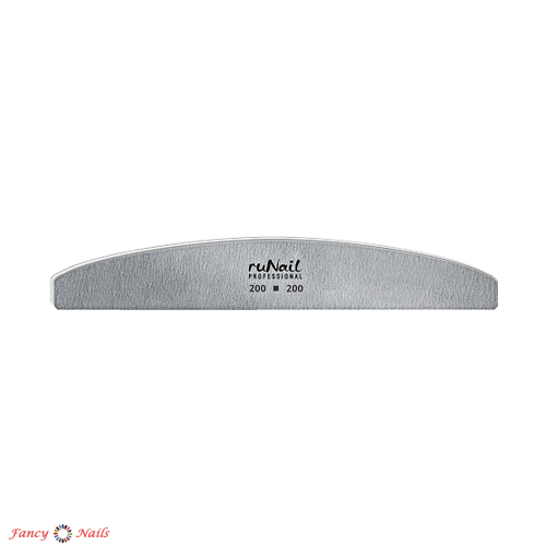 runail пилка полукруглая 200 200 грит