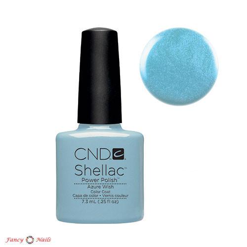 cnd shellac azure wish
