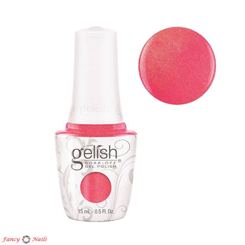 gelish hip hot coral 15 мл