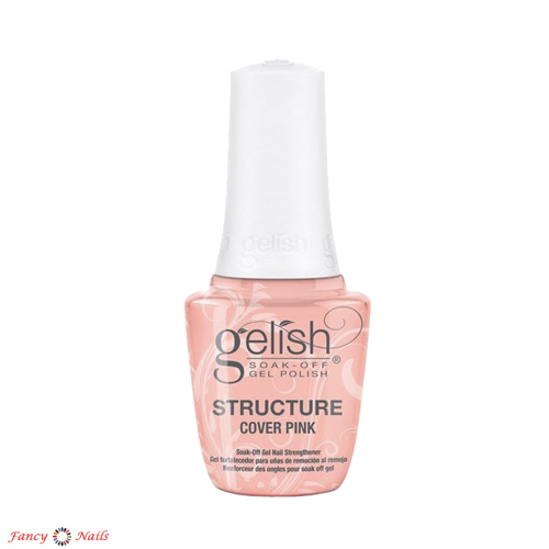 gelish structure gel cover pink 15 мл