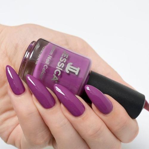 jessica 1144 purple фото на ногтях
