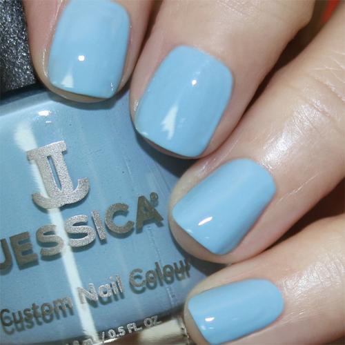 geleration 1183 blueberry cream фото на ногтях