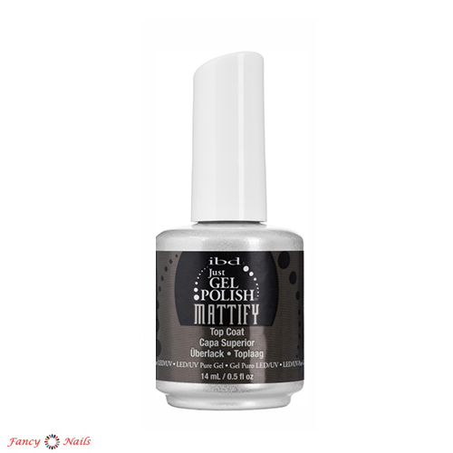 ibd just gel polish mattify top coat